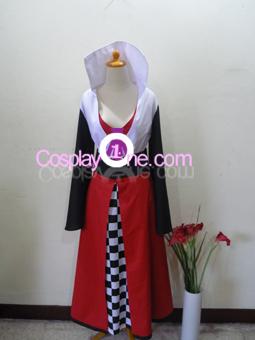Haruhi Suzumiya (Queen of Hearts version) from Haruhi Cosplay Costume front