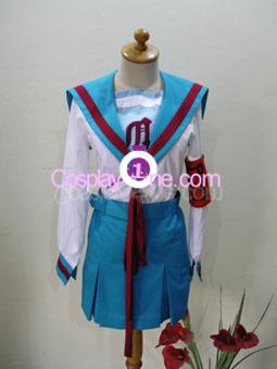 Haruhi Suzumiya from Haruhi Cosplay Costume front