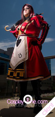 Client Photo 1 Alice from Kingdom Hearts Cosplay Costume