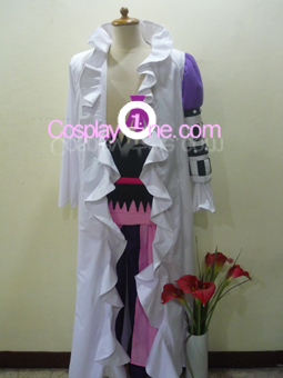 Basil Hawkins from One Piece Cosplay Costume front