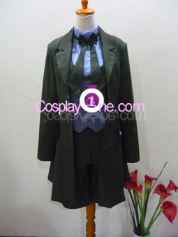 Ciel Phantomhive (Demon version) from Black Butler Cosplay Costume front