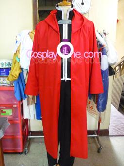 Edward Elric from Fullmetal Alchemist Cosplay Costume front prog