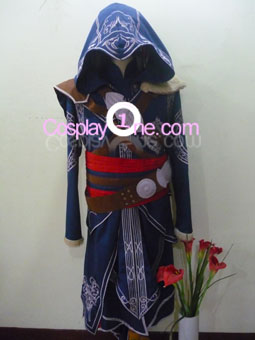 Ezio Auditore da Firenze from Assassin Creed Cosplay Costume front