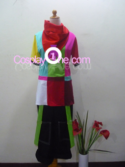 Glitch from Dance Central Cosplay Costume front