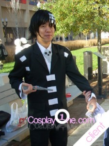 Client Photo 1 Death The Kid for Soul Eater Cosplay Costume