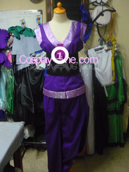 Mileena Legacy from Mortal Kombat Cosplay Costume front prog