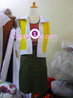 Shiki Misaki from The World Ends Cosplay Costume front prog