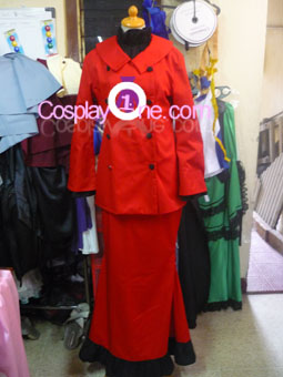 Spain Nyotalia from Hetalia Cosplay Costume front prog