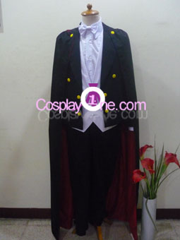 Tuxedo Mask from Sailor Moon Cosplay Costume front