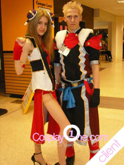Client Photo 1 Aoto from Ar Tonelico Cosplay Costume