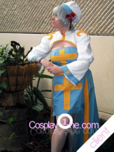 Client Photo Archbishop from Anime Cosplay Costume
