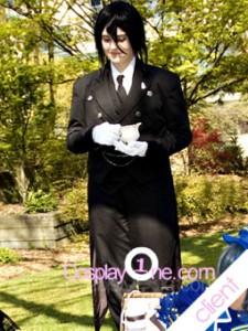 MAL Client3 Sebastian Michaelis from Black Butler Cosplay Costume