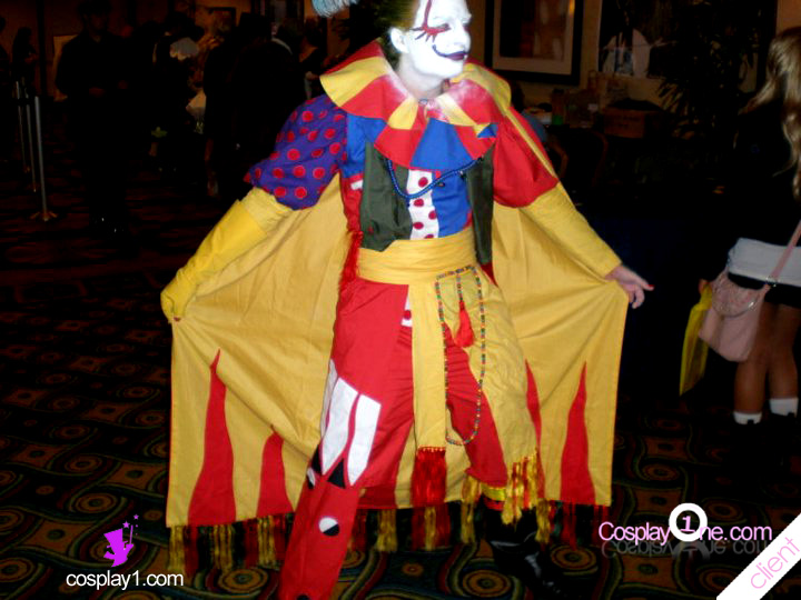 Client Photo 2 Kefka Palazzo from Final Fantasy VI Cosplay Costume
