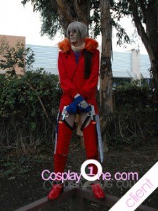Client Photo Jo from Burst Angel Cosplay Costume front