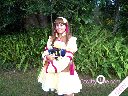 Rei Mii from Zoids Cosplay Costume