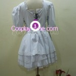 Rebecca Chambers from Resident Evil Cosplay Costume back