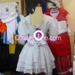 Rebecca Chambers from Resident Evil Cosplay Costume back prog