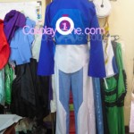 Setsuna F. Seiei from Mobile Suit Gundam Cosplay Costume back prog