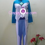 Setsuna F. Seiei from Mobile Suit Gundam Cosplay Costume inner 2 front