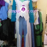 Setsuna F. Seiei from Mobile Suit Gundam Cosplay Costume inner 2 front prog