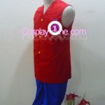 Monkey D. Luffy from One Piece Cosplay Costume side in