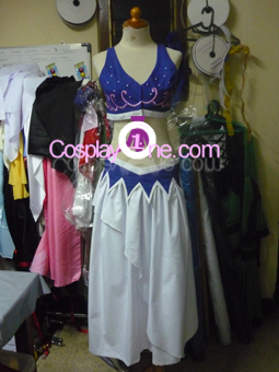 Nami from One Piece Cosplay Costume front prog