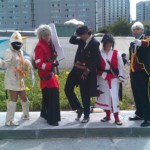 Ragna The Bloodegde from Anime Cosplay Costume client 1