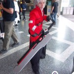 Ragna The Bloodegde from Anime Cosplay Costume client 4