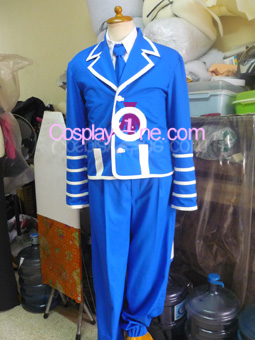 Tegami Bachi from Anime Cosplay Costume front prog