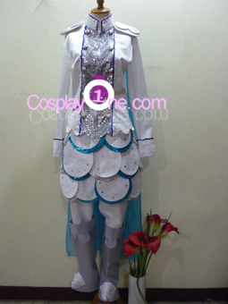 Captain Dophin from Anime Cosplay Costume front