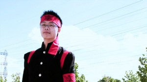 Ouendan from Anime Video Game Cosplay Costume Client Photos