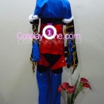 Paine Black Mage from Final Fantasy X Cosplay Costume back