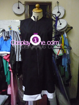 Strength from Black Rock Shooter Cosplay Costume front prog