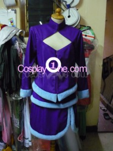 Midnight Ahri from League of Legends Cosplay Costume front prog