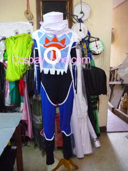 Sheik from The Legend of Zelda (Ocarina of Time) Cosplay Costume front prog