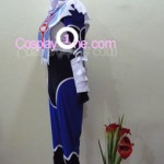 Sheik from The Legend of Zelda (Ocarina of Time) Cosplay Costume side