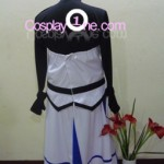 Nanoha from Magical Girl Lyrical Nanoha Cosplay Costume back in