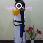 Nanoha from Magical Girl Lyrical Nanoha Cosplay Costume side in