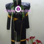 Loki from Marvel Comics Cosplay Costume front