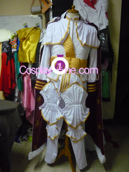 Prince Maximilian from Valkyria Chronicles Cosplay Costume front prog