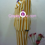 Admiral Kizaru from One Piece Cosplay Costume side in