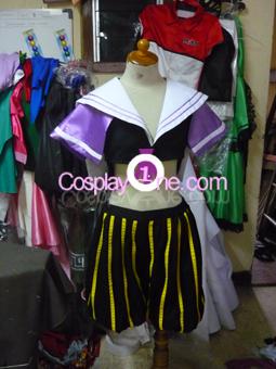 Vita from Magical Girl Lyrical Nanoha Cosplay Costume front prog