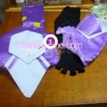 Vita from Magical Girl Lyrical Nanoha Cosplay Costume glove prog