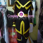 Azula from Avatar Cosplay Costume back prog