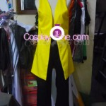 Monkey D. Luffy from One Piece Cosplay Costume front in prog