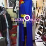 Raven from DC Comics Cosplay Costume side prog