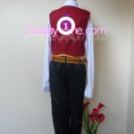 Twisted Fate from League of Legends Cosplay Costume back in