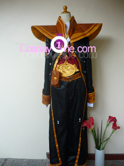 Twisted Fate from League of Legends Cosplay Costume front