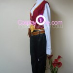 Twisted Fate from League of Legends Cosplay Costume side in