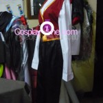 Twisted Fate from League of Legends Cosplay Costume side in prog